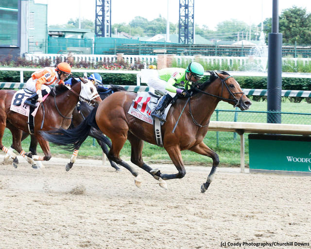 Honey Bunny captures the Winning Colors Stakes (G3) at Churchill Downs on May 25, 2019