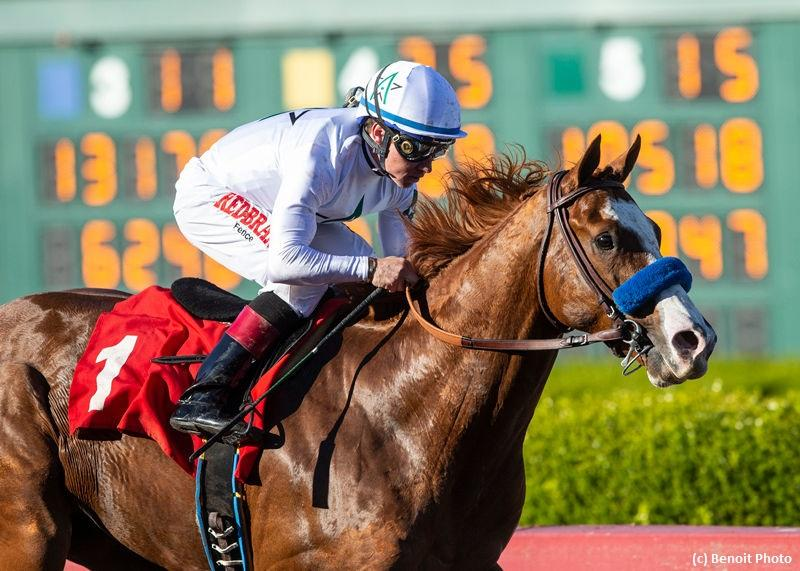 Improbable unstoppable in Los Alamitos Futurity romp