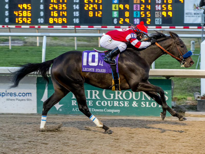Instilled Regard Wins Lecomte to Move Up Kentucky Derby leaderboard