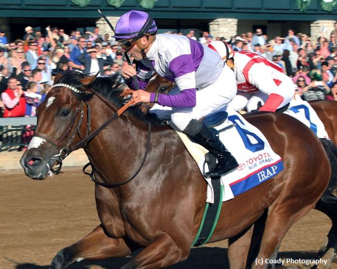 Irap puts Reddam, O'Neill back in Kentucky Derby picture