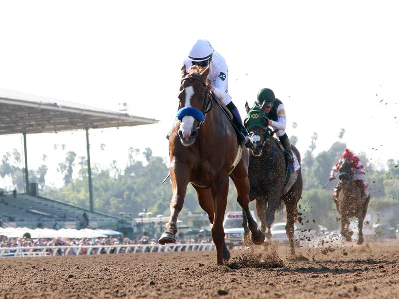 Best 2018 Kentucky Derby prep: Justify hurls Bolt in Santa Anita Derby