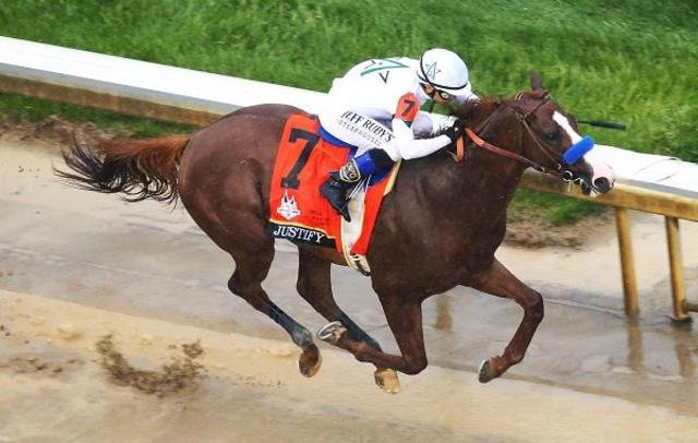 Triple Crown champion Justify… News Image