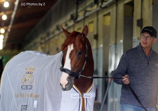Speculating upon Justify's possible path to the Breeders' Cup