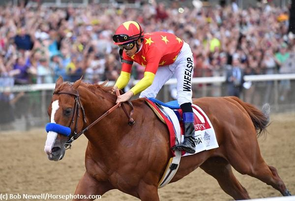 Justify wires Belmont Stakes 150 to become 13th Triple Crown champion