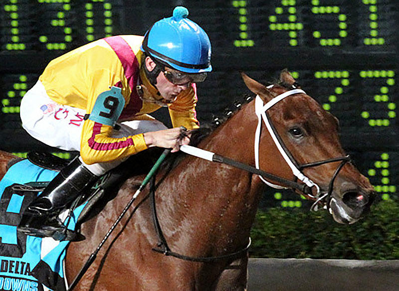 ​Turf runners, sprinters make up light edition of Delta Downs Princess