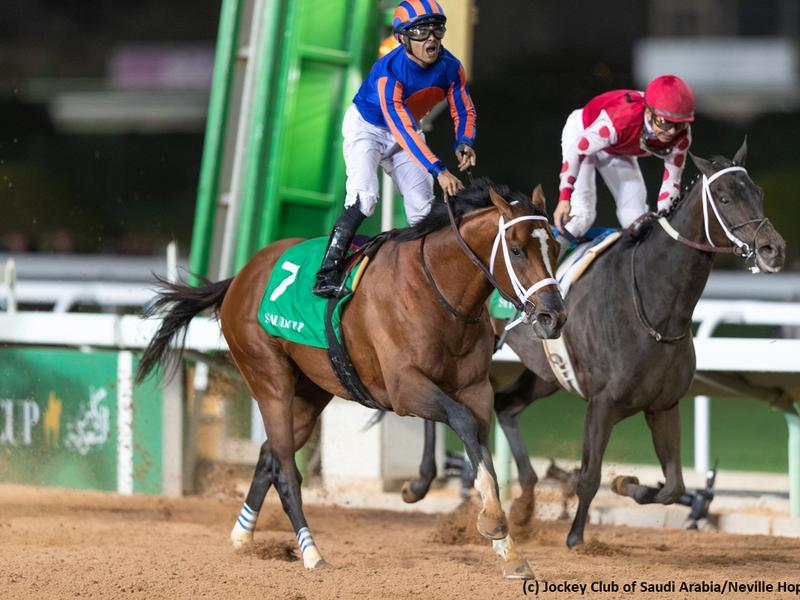 Maximum Security wins the Saudi Cup