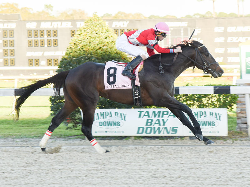 McCraken rallies for track record in Sam F. Davis victory
