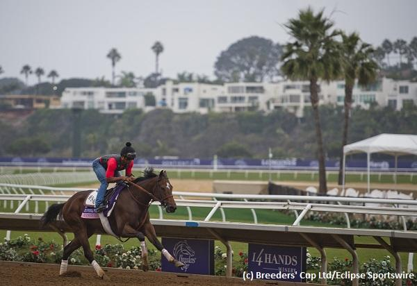 Tough renewal of Breeders' Cup Juvenile Fillies on tap at Del Mar