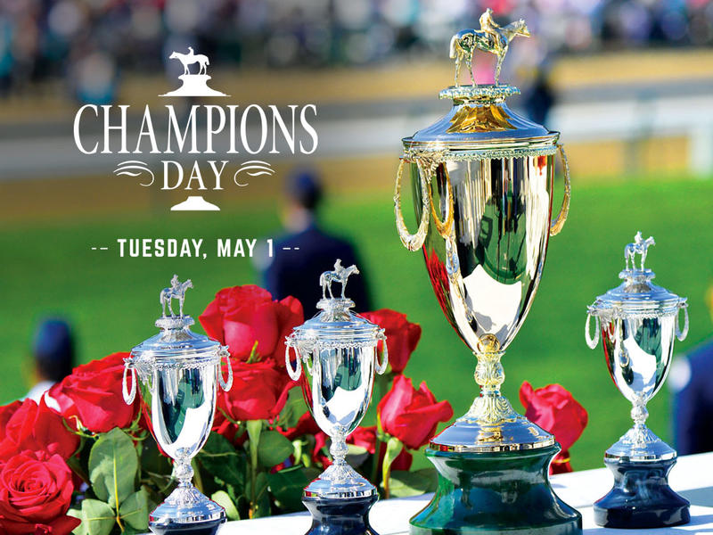 Champions Day at Churchill Downs To Celebrate Legendary Jockeys and Trainers on Tuesday of Derby Wee