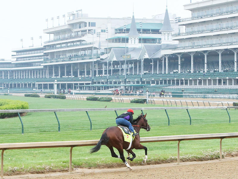 Kentucky Derby Works to be… News Image
