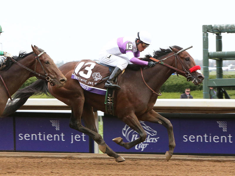 ​Nyquist wins Breeders' Cup Juvenile, establishes himself as early Kentucky Derby favorite