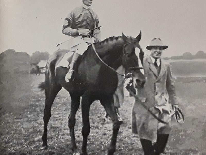 Reigh Count wins the 1929 Coronation Cup