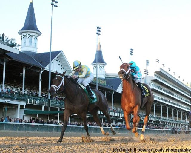 Casse fillies impress early on the Road to the Kentucky Oaks