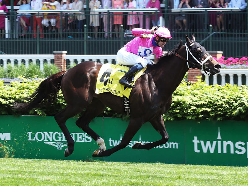Rocket Heat Singes Twin Spires… News Image