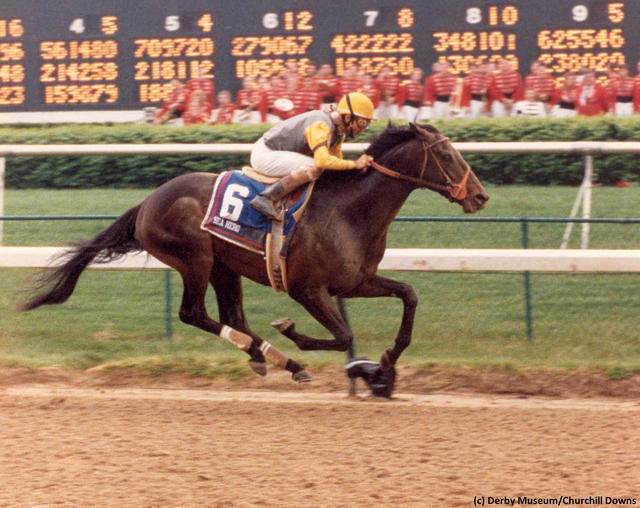 Sea Hero wins the 1993 Kentucky Derby