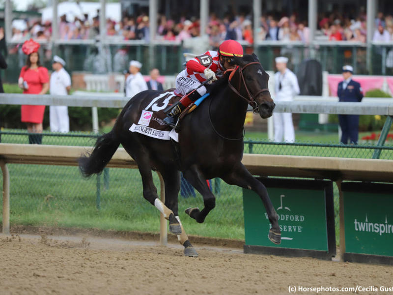 Serengeti Empress wins the Kentucky Oaks