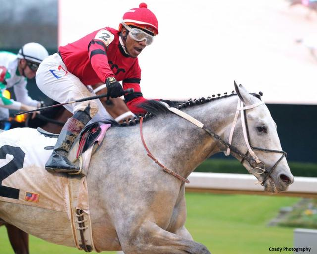 Silver Prospector winning the Southwest (G3) at Oaklawn