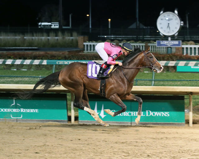War of Will broke his maiden at Churchill Downs