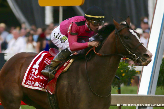 War of Will wins the 144th Preakness Stakes at Pimlico