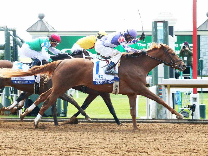 Weep No More debuts on Kentucky Oaks leaderboard with Ashland upset