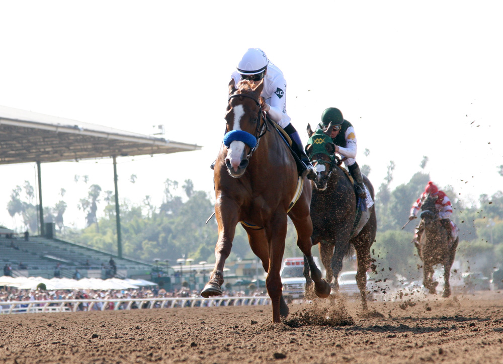 Justify On His Way To Kentucky After Santa Anita Derby Score