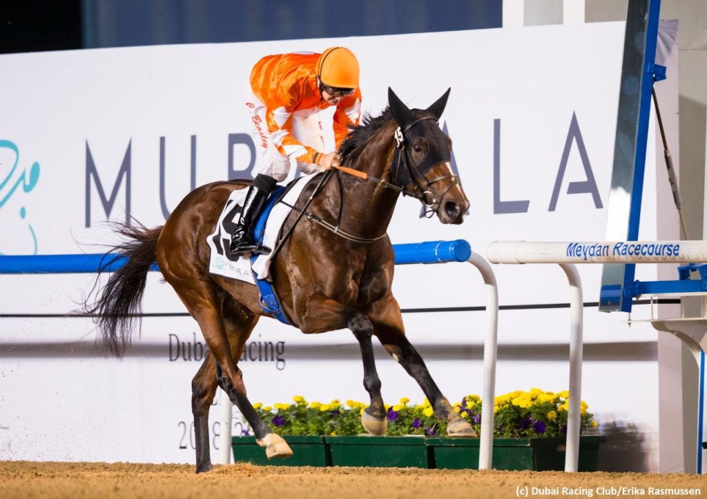 Walking Thunder storms into UAE Derby picture as Royal Marine stalls