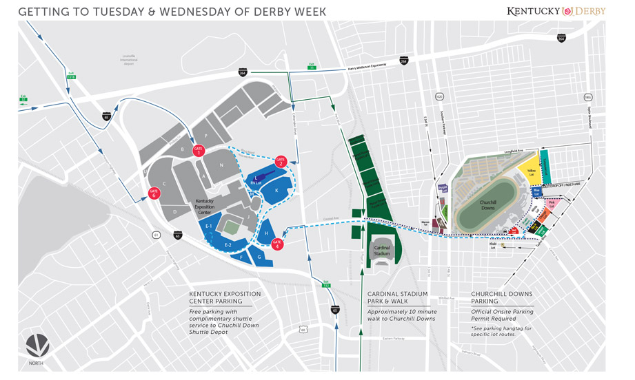 NEW Parking | 2020 Kentucky Derby & Oaks | May 1st and 2nd, 2020