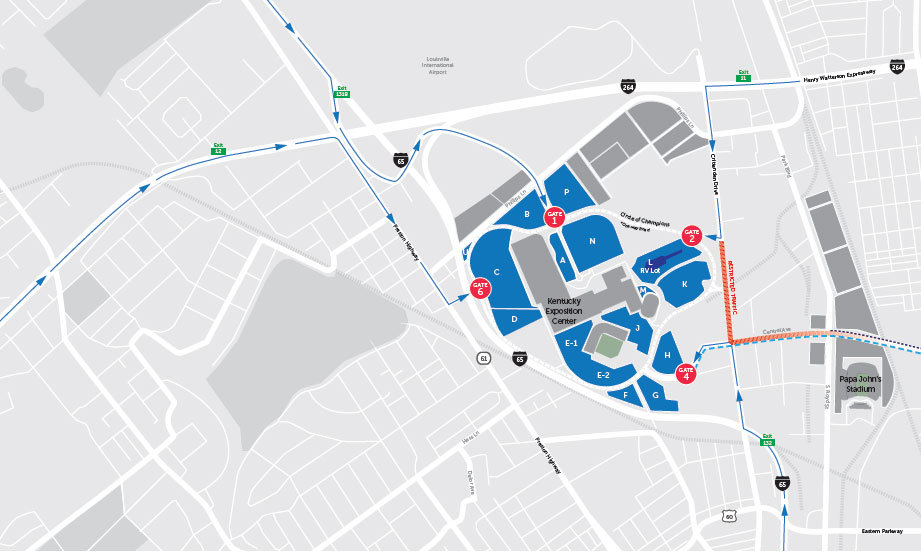 NEW Parking | 2019 Kentucky Derby & Oaks | May 3rd and 4th, 2019