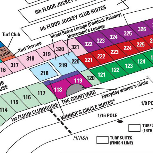 Kentucky Derby Seating Chart 2016 Churchill downs seating chart